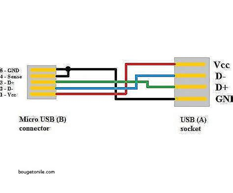 micro usb charger wiring diagram wiring diagram