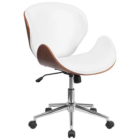 white office desk chair white leather desk chairs choose the best