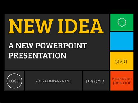 new design for powerpoint presentation new idea powerpoint presentation by yordstudio graphicriver