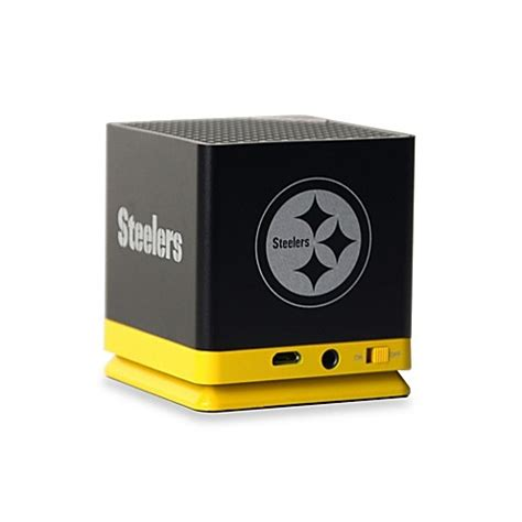 bed bath and beyond speakers buy nfl pittsburgh steelers bluetooth speaker from bed