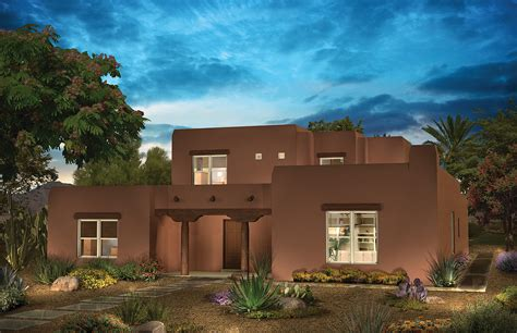 12 delightful pueblo style houses home plans