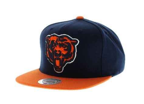chicago colors chicago bears team colors the xl logo snapback by mitchell