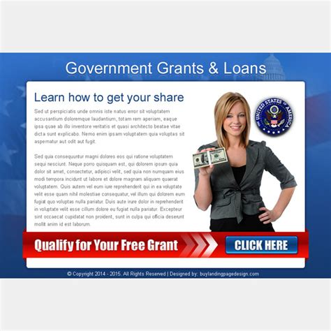 government funding for buying a house ppv landing page design templates for your online