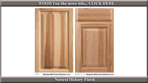 Kitchen Cabinet Door Finishes Excellent Kitchen Cabinet Door Finishes 512 Hickory Finish Style 25961 Home Ideas