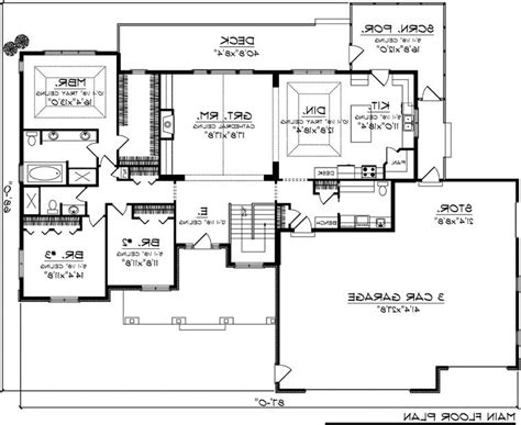 house plan 30502 at familyhomeplans craftsman house floor plans photos