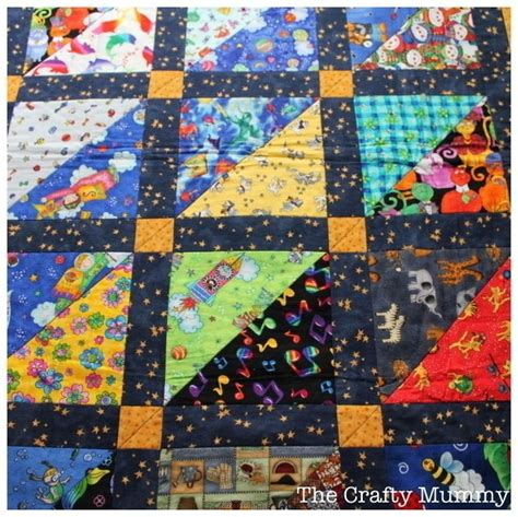 How To Make A Patchwork Quilt Out Of Baby Clothes - i quilt tutorial 183 how to make a patchwork quilt