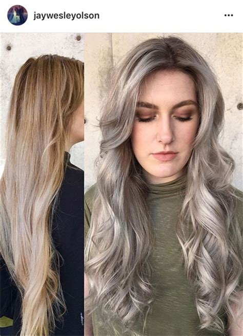 best clothing colors for platinum hair the warm to cool blonde hair color hacks every colorist