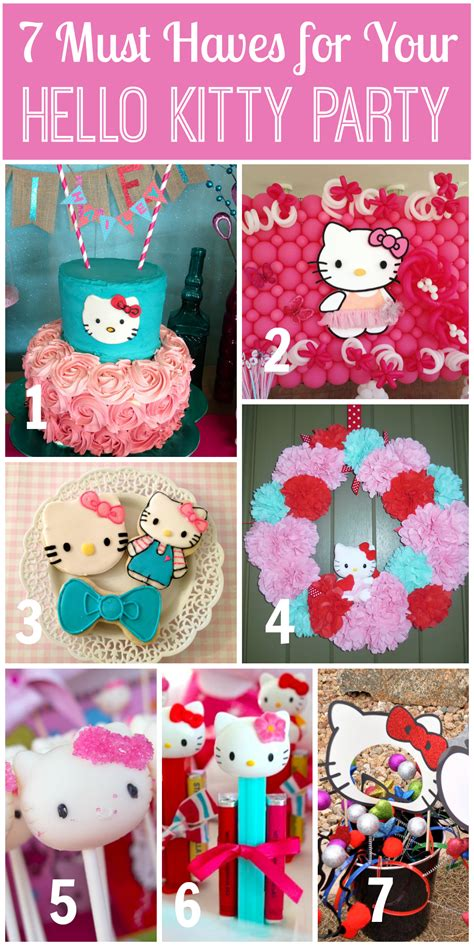 couple kitty themes ideas 7 things you must have at your hello kitty party catch