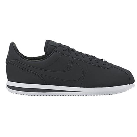 Sepati Casual Nike Cortez Black nike cortez s casual shoes black anthracite