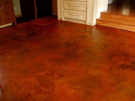 Cement Floor Stain by How To Stained Concrete How To Stained