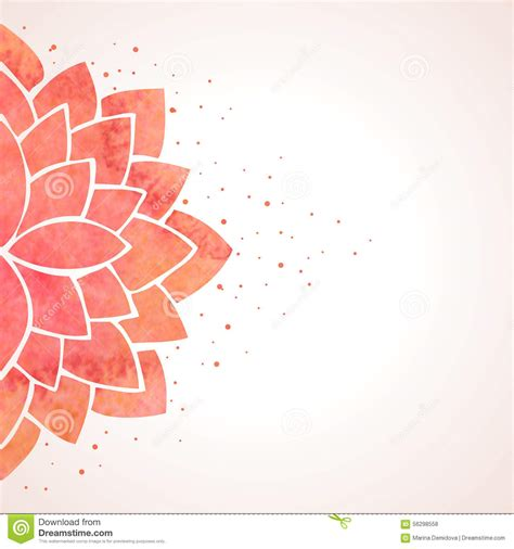 pattern vector background eps watercolor red flower pattern vector background stock