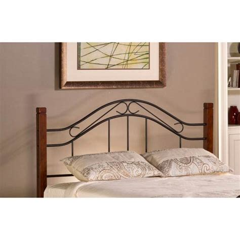 red twin headboard outdoor