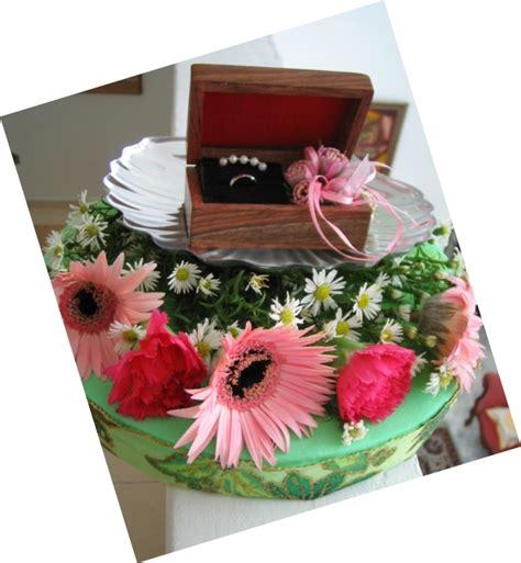 Cake Tray Putih Ct15 hantaran bells are ringing