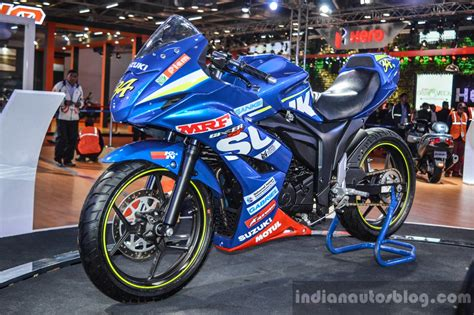 Ktm At Auto Expo 2016 by Suzuki Gixxer Cup Race Bike Gixxer Sf At Auto Expo 2016