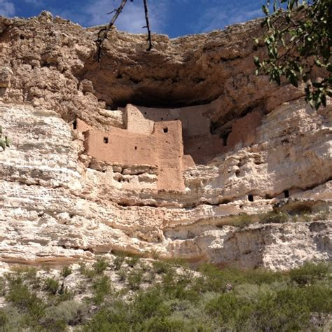 Montezumas castle az, Lake Montezuma, Arizona   It was cool to see