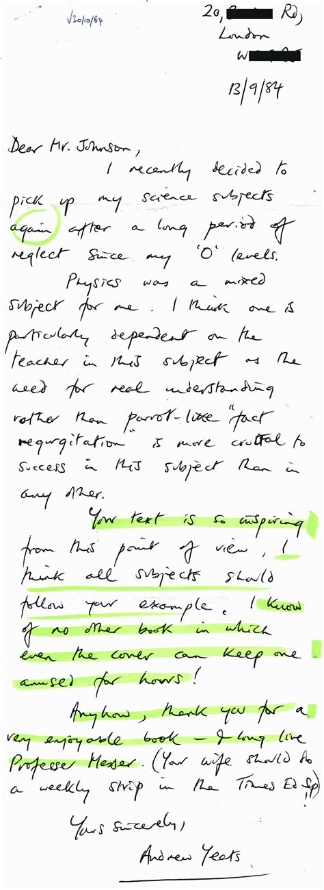 Thank You Letter To Landlord Sle thank you letter to a from student sle 28 images thank