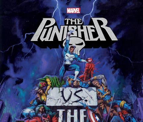 punisher vs the marvel punisher vs the marvel universe trade paperback comic books comics marvel com