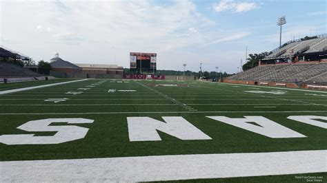 section 8 troy al troy memorial stadium section 126 rateyourseats com