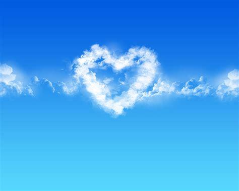 wallpaper handphone romantis blue love hearts desktop wallpaper i hd images