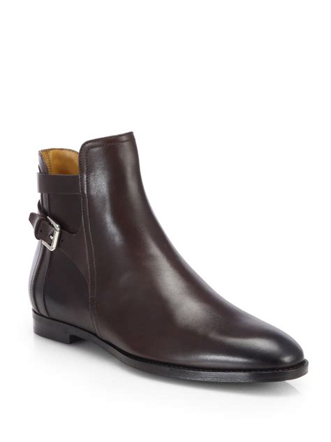 ralph leather boots ralph collection quilita doublebuckle leather boots