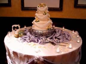 wedding cake table decorations decoration
