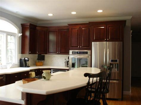 kitchen wall colors with cherry cabinets kitchen wall colors with cherry cabinets white leather bar