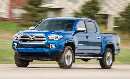 2016 toyota tacoma v 6 limited 4x4 – review – car and driver