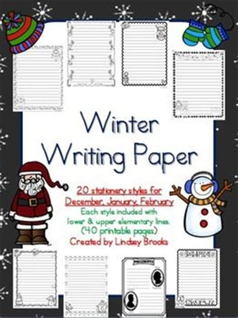 printable january writing paper 17 best images about writing paper on pinterest your my