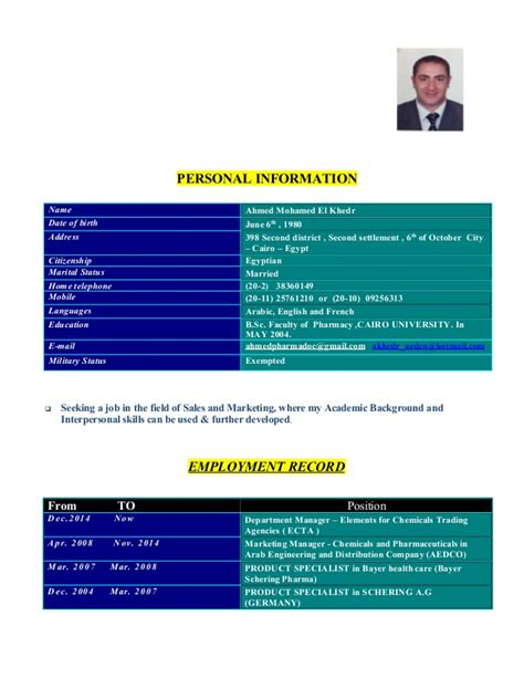 Resume Znaczenie by Dr Ahmed Khedr Cv Finalized 01