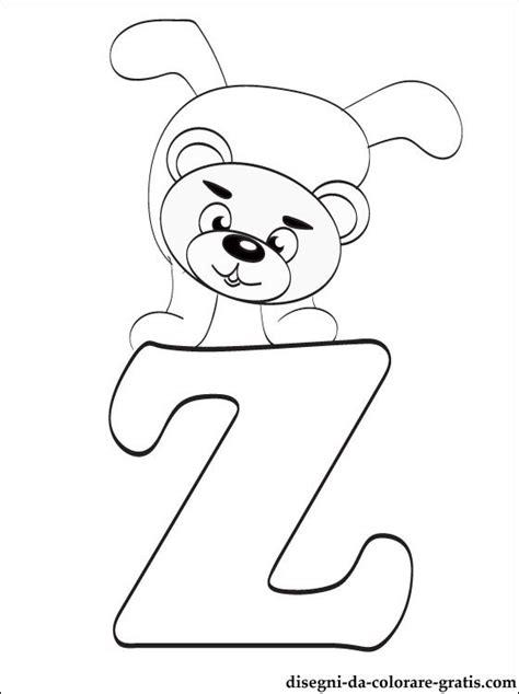 lettere dell alfabeto da colorare e stare gratis lettera z disegni da colorare disegni da colorare gratis