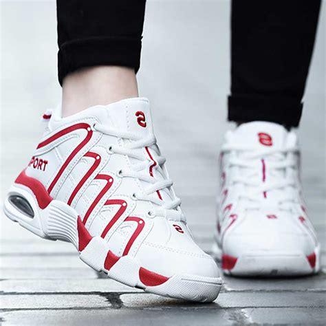 Sepatu Basket Air 6 High high tops basketball shoes large size 45 athletic basket homme air cushion
