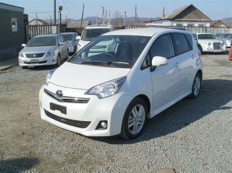 Toyota Motor Corporation Subsidiaries Used 2010 Toyota Ractis Photos 1500cc Gasoline Ff