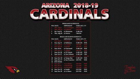 arizona cardinals wallpaper schedule