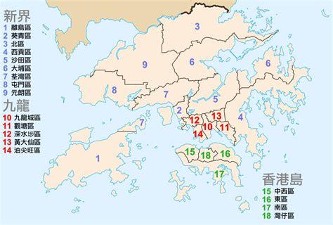 map of hong kong file map of hong kong district zh hant png wikimedia commons