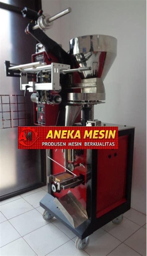 Mesin Kemasan Kopi Sachet mesin packing kopi sachet aneka mesin
