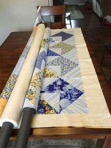 pool noodles are a big help in the sewing room quilting