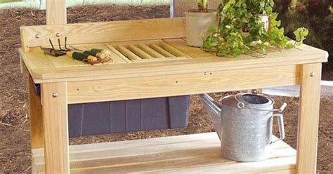 cypress potting bench outdoor cypress wooden potting table a well beautiful