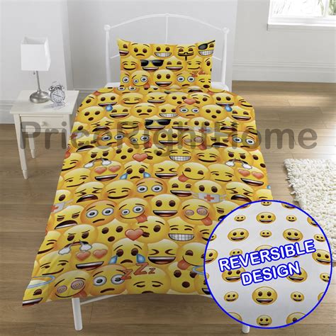 emoji quilt cover emoji duvet cover sets single double available funny