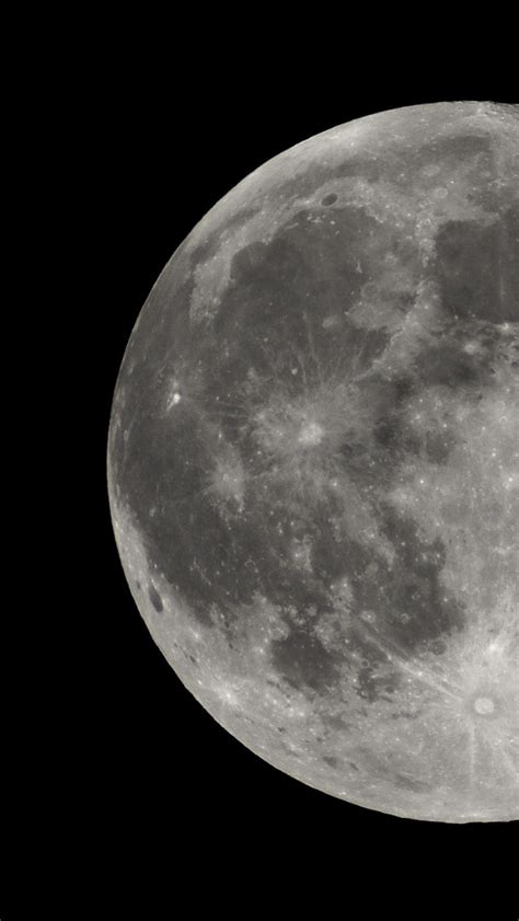 Wallpaper For Iphone 5 Moon | 640x1136 moon outer space photo iphone 5 wallpaper