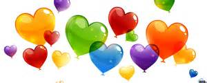 colored hearts wallpaper colored balls 2560 x 1024 dual