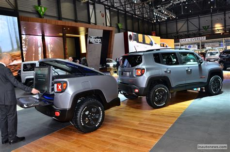 new jeep renegade concept 2015 geneva motor show jeep renegade hard steel concept