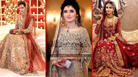 Top 50 Latest Wedding Dresses   Pakistani Bridal Fashion