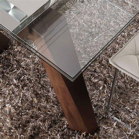 tavoli vetro e acciaio albenga tavolo da pranzo allungabile in legno massello