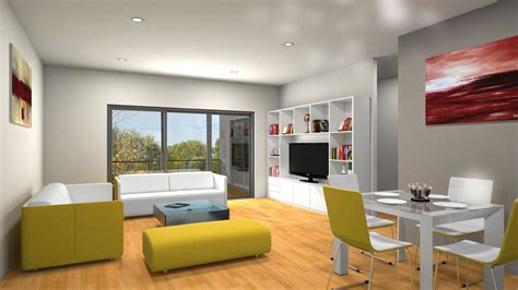 Floor Plan In Sketchup 3d Interior Rendering Services Outsource 3d Interior