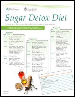 Pintrest Sugar Detox Menu For Family by Best 25 One Week Cleanse Ideas On One Week