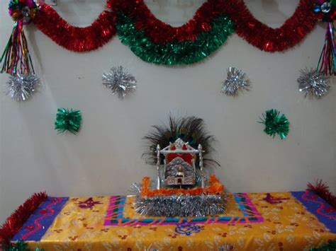 home decoration for janmashtami how to decorate janmashtami at home 15 incredible krishna