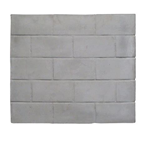 fireplace panel replacement fireside universal fireplace replacement brick refractory panel 28 quot x 24 quot ebay