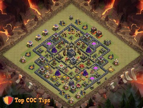 coc layout attack simulator 17 best images about clash of clans base designs on
