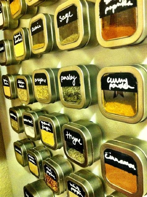 diy magnetic spice rack for refrigerator magnetic diy spice rack on fridge 10 diy spice