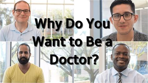 why i want to be a doctor on this slide you should consider the